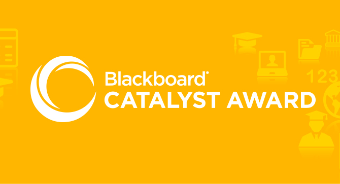 Blackboard Catalyst Exemplary Course Award