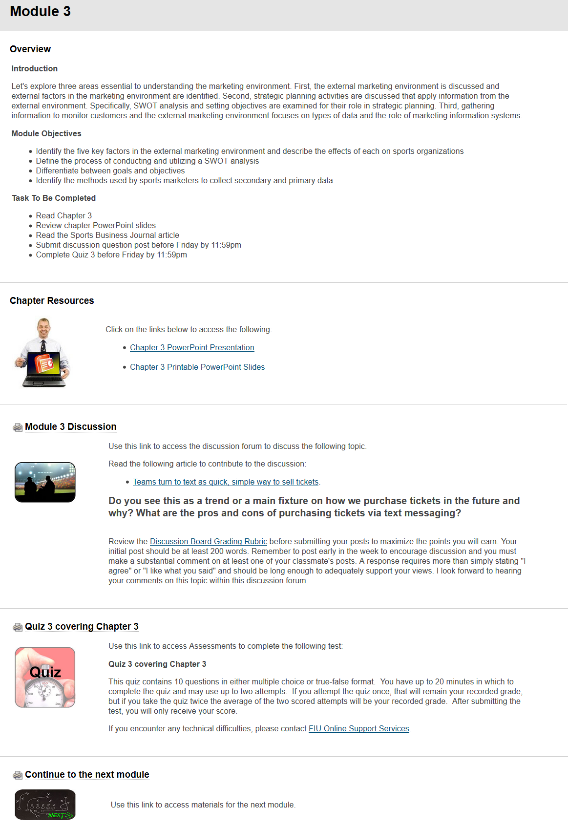 Quality matters essentials qme fiuonline content presentation example 1betcityfo Images