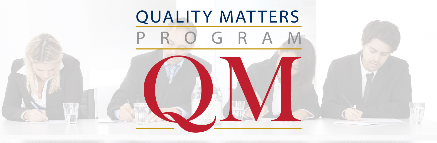Quality Matters banner