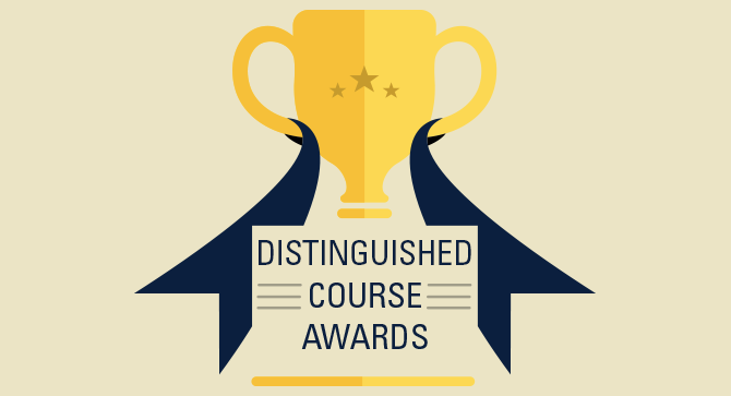 Distinguished Course Award